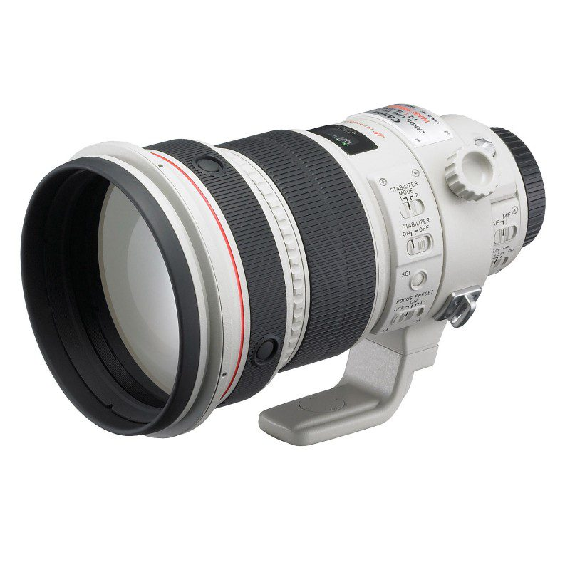 Canon EF 200mm f/2.0L IS USM objectief