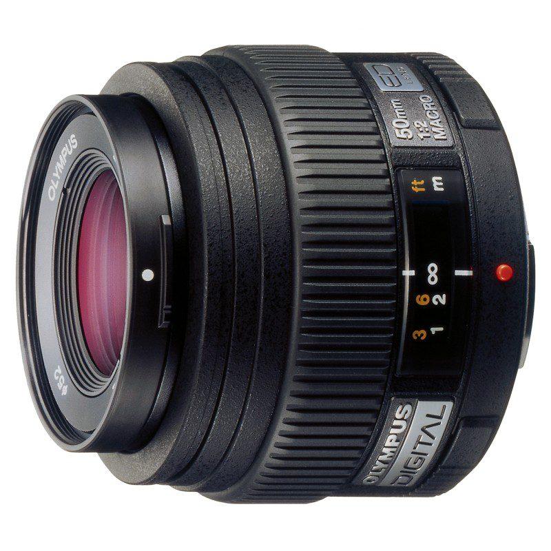 Olympus Zuiko Digital ED 50mm f/2.0 Macro objectief