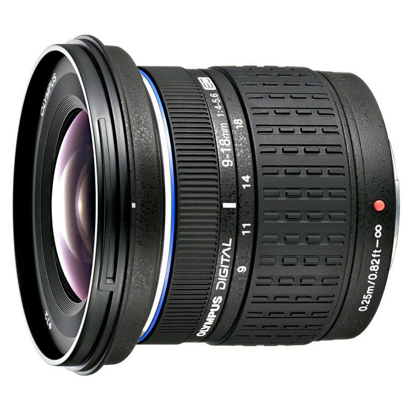 Olympus Zuiko Digital 9-18mm f/4.0-5.6 objectief