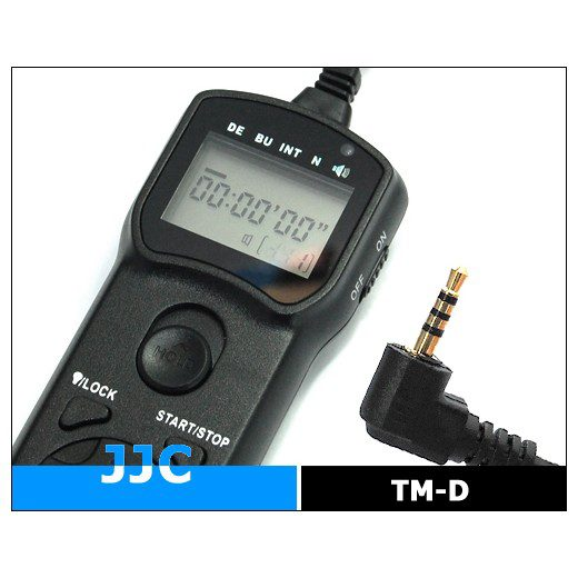 JJC Wired Timer Remote Controller TM-D (Panasonic DMW-RS1)