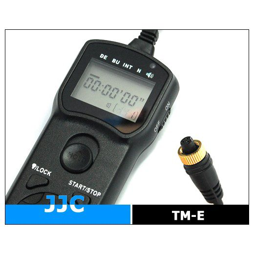 JJC Wired Timer Remote Controller TM-E (Olympus RM-CB1)