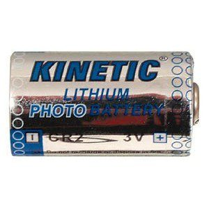 Foto van Kinetic CR2 Lithium batterij 3 Volt