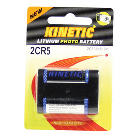 Kinetic 2CR5 Lithium Photo batterij