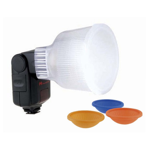 Image of Falcon Eyes D2 Diffuser Cup + kleurenfilters