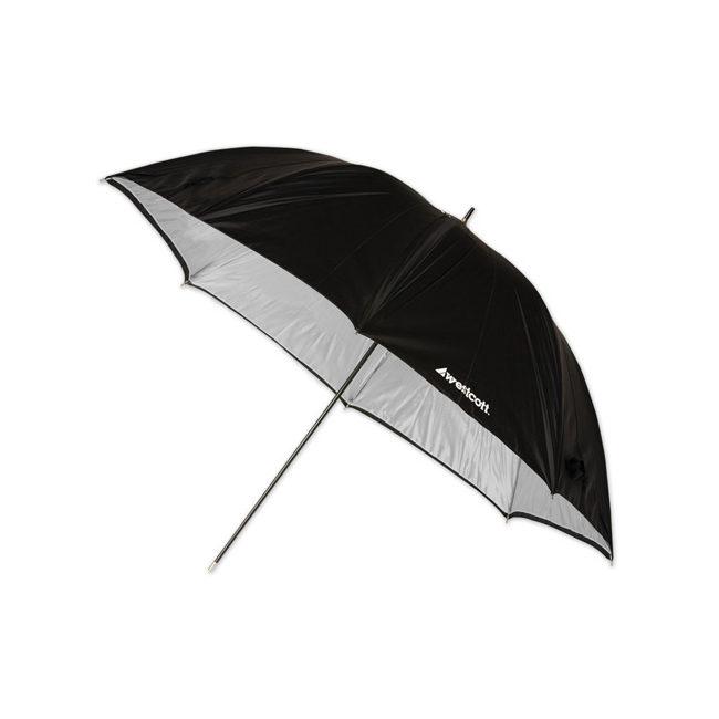 Foto van Westcott 2006 (114cm/45 Inch) Soft Silver Paraplu
