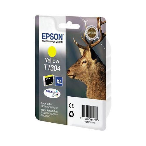 Inkcartridge Epson T130440 geel HC