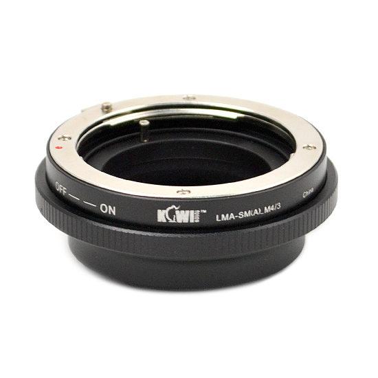 Kiwi Photo Lens Mount Adapter LMA-SM(A)-M4-3