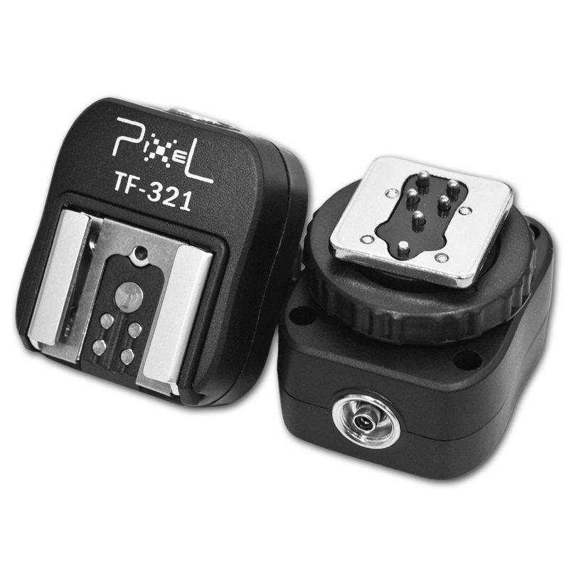 Pixel E-TTL Hotshoe Adapter TF-321 voor Canon