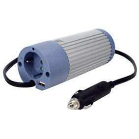 HQ Omvormer 100W met USB (24-230V)
