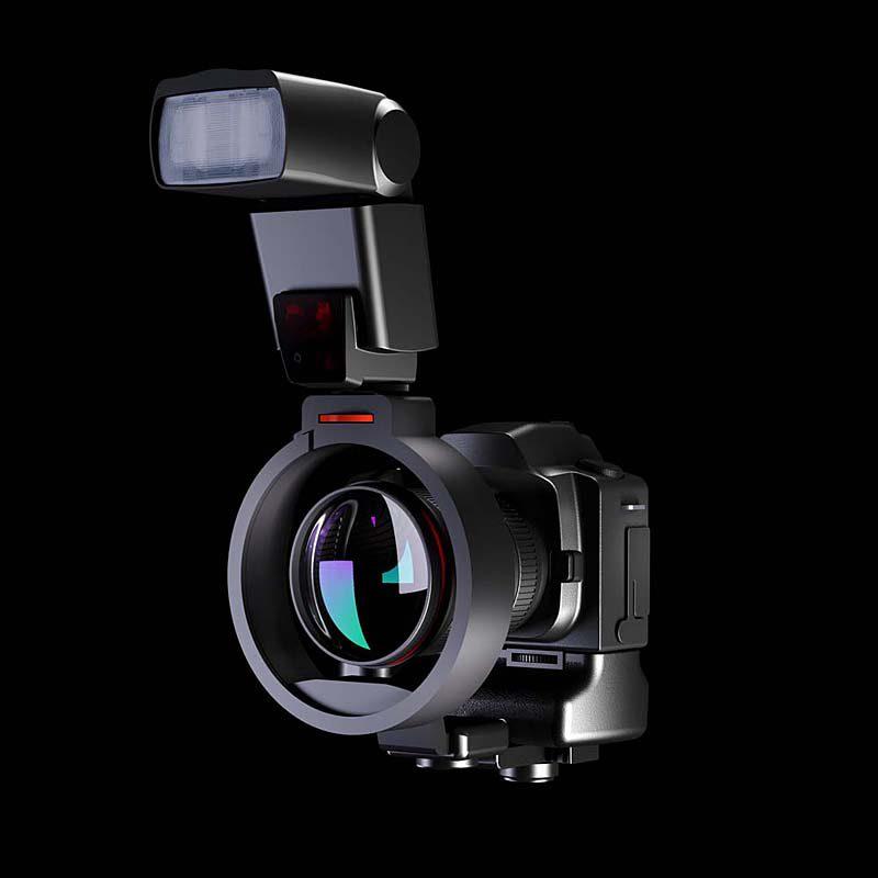 Foto van Rayflash Flash Rotator Canon