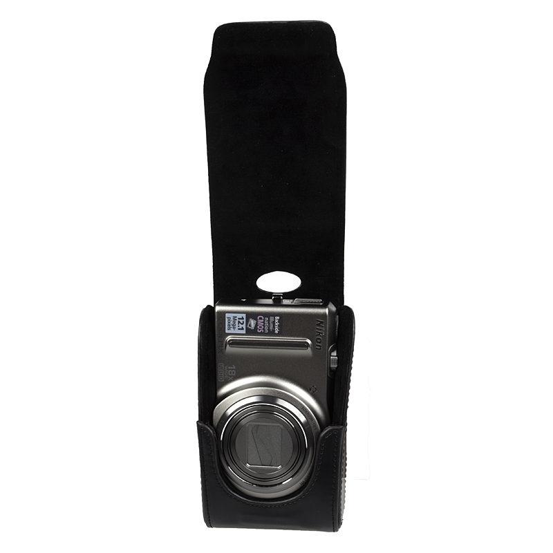 Schoudertas Nikon : Nikon cs s zwart