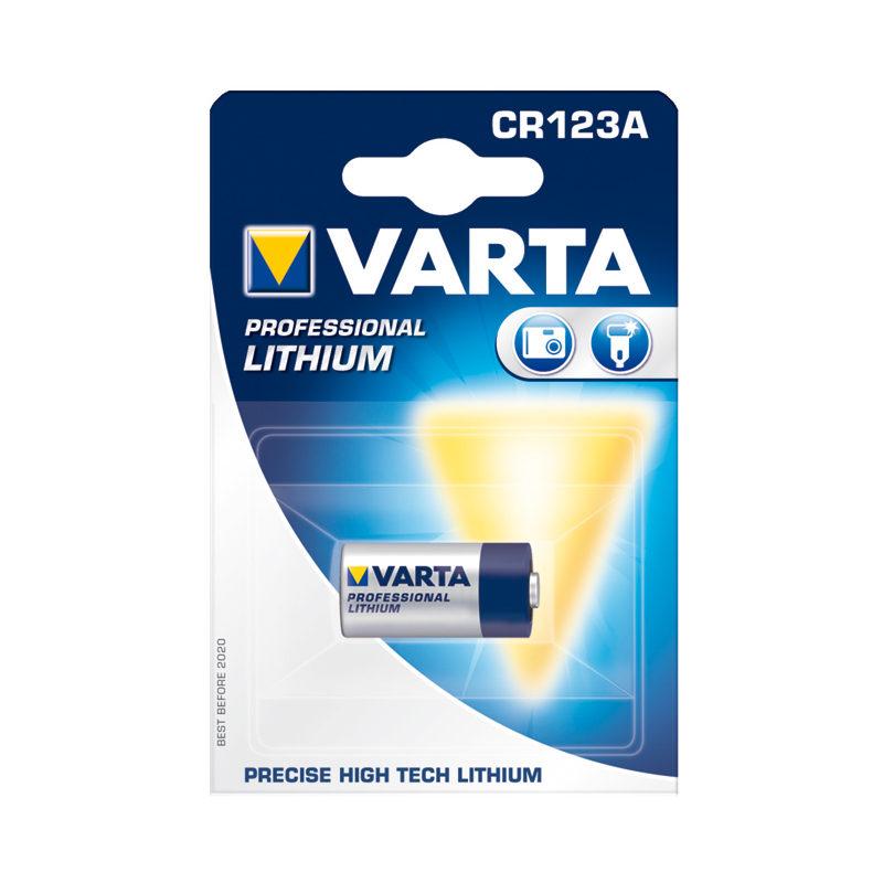 Foto van Varta CR123A Lithium Photo batterij