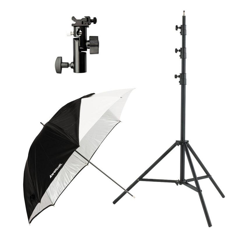Foto van Westcott 2332 Collapsible Umbrella Flash Kit