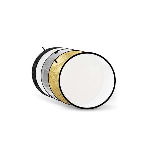 Foto van Godox 5-in-1 Gold, Silver, Black, White, Translucent - 60cm