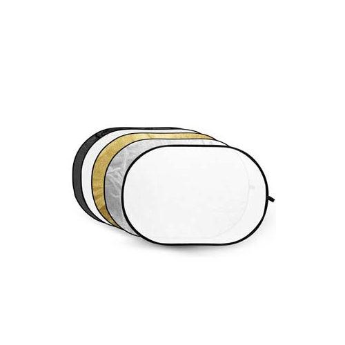 Foto van Godox 5-in-1 Gold, Silver, Black, White, Translucent - 80X120cm