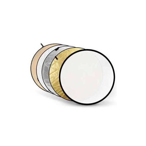 Foto van Godox 5-in-1 Gold, Silver, Soft Gold, White, Translucent - 110cm