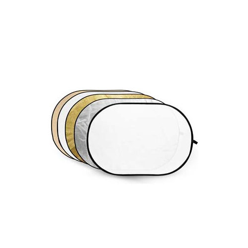 Foto van Godox 5-in-1 Gold, Silver, Soft Gold, White, Translucent - 100x150cm
