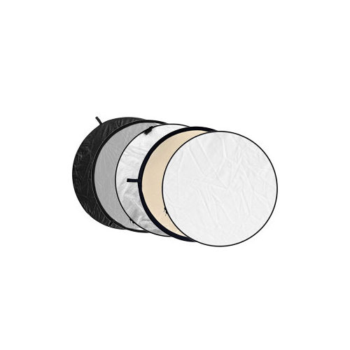 Foto van Godox 5-in-1 Black, Silver, Soft Gold, White, Translucent - 80cm