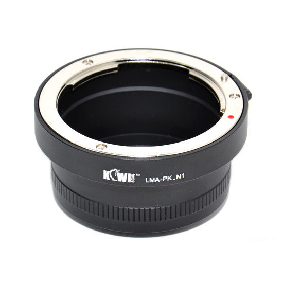 Kiwi Photo Lens Mount Adapter (Pentax K naar Nikon 1)