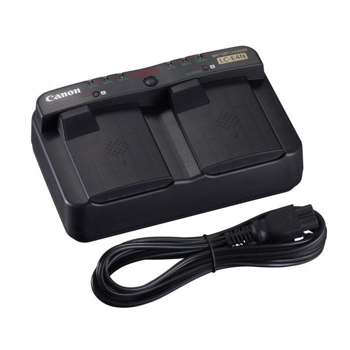 Canon LC-E4N batterijlader voor de LP-E4N
