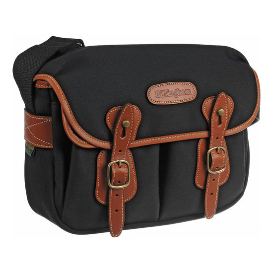 Foto van Billingham Hadley Small Black/Tan