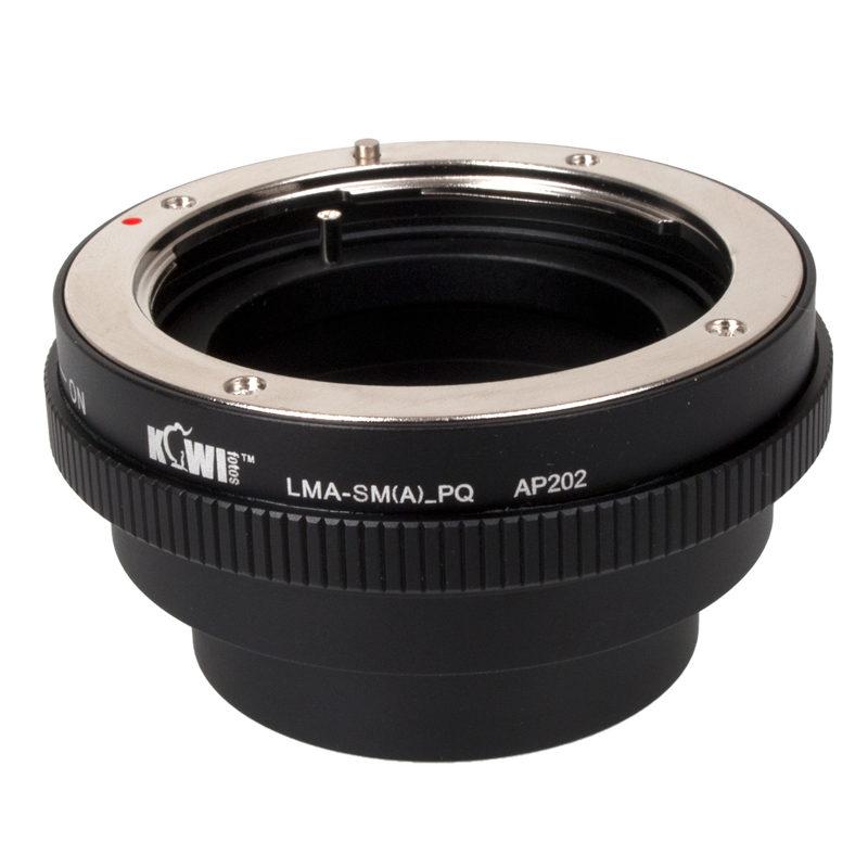 Kiwi Photo Lens Mount Adapter LMA-SM(A)_PQ