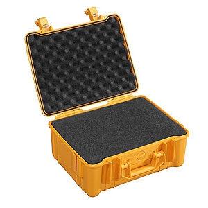 b w outdoor case type 40 oranje met plukschuim. Black Bedroom Furniture Sets. Home Design Ideas