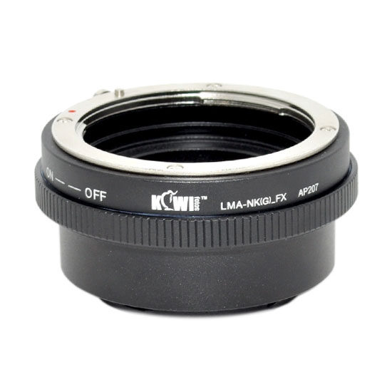 Kiwi Photo Lens Mount Adapter LMA-NK(G)_FX