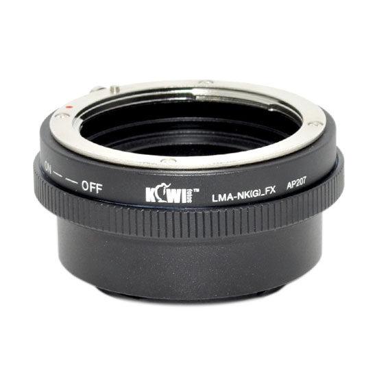 Kiwi Photo Lens Mount Adapter LMA-NK(G)_FX
