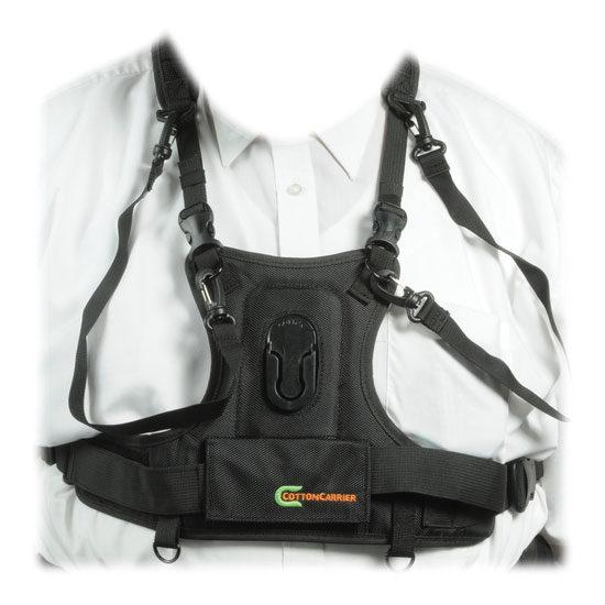 Foto van Cotton Carrier Camera Vest Zwart