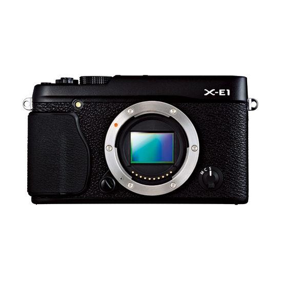 Fujifilm X-E1 Body systeemcamera Zwart