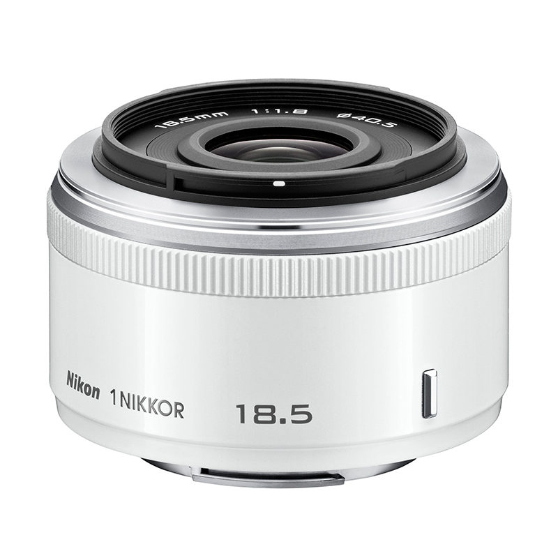 Image of 1 Nikon 18.5mm f/1.8 objectief Wit