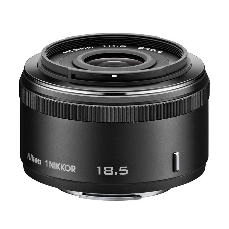 1 Nikon 18.5mm f/1.8 objectief Zwart