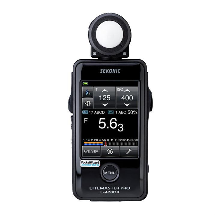Foto van Sekonic L-478DR LiteMaster Pro lichtmeter