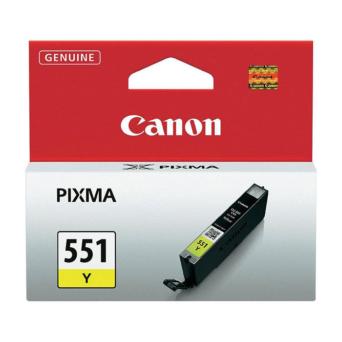 Canon Inktpatroon CLI-551 - Yellow
