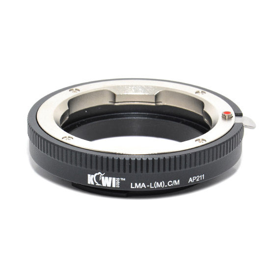 Kiwi Lens Mount Adapter (Leica M naar Canon M)