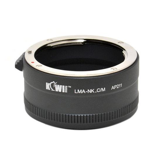 Kiwi Lens Mount Adapter (Nikon F naar Canon M)