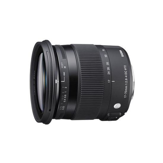 Sigma 17-70mm f/2.8-4.0 DC HSM Macro Contemporary Sony A-mount objectief