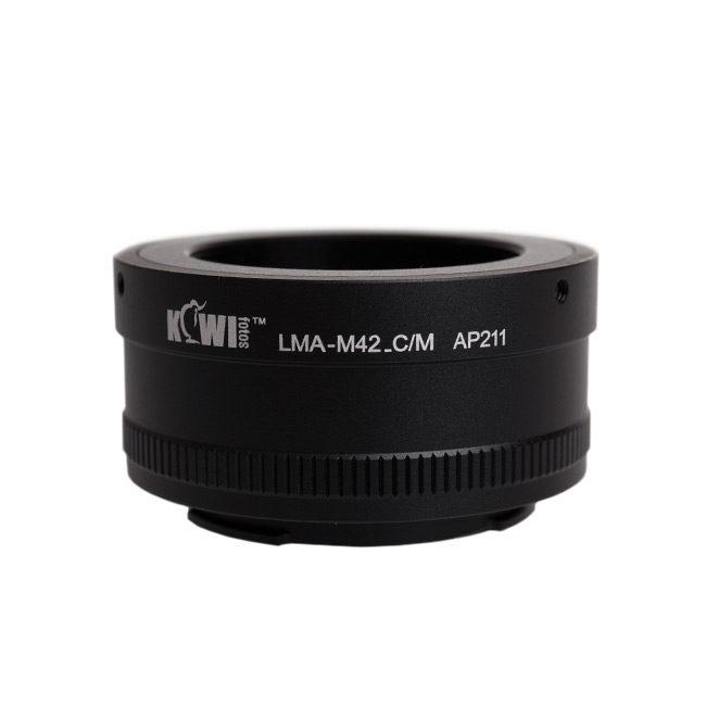Kiwi Lens Mount Adapter (M42 naar Canon M)