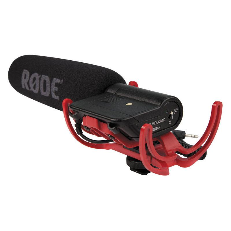 Rode VideoMic microfoon met Rycote Lyre Suspension System