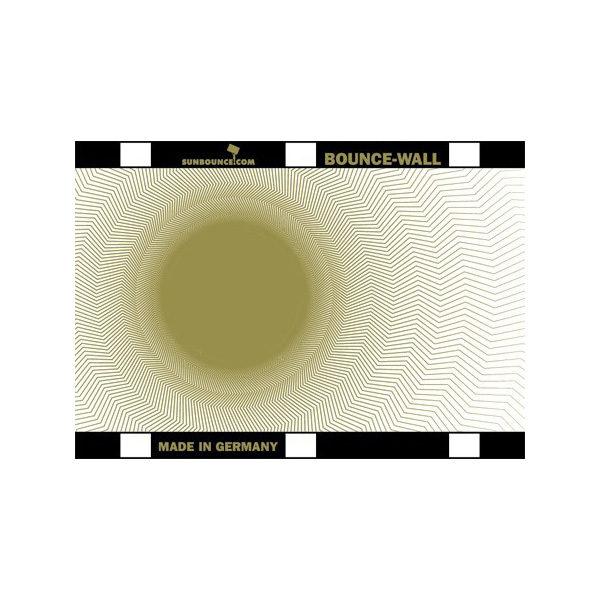 Foto van Sunbounce Bounce-Wall Reflector Galaxy Gold / White (21 x 29,7 cm)