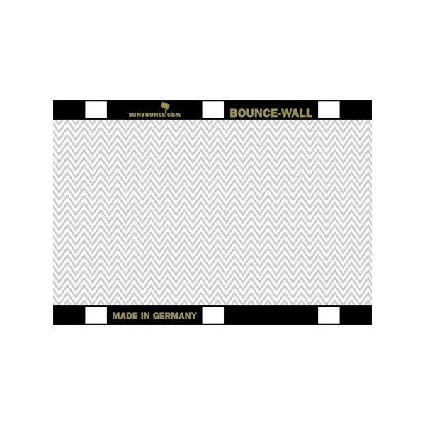 Foto van Sunbounce Bounce-Wall Reflector Zig-Zag Silver / White (21 x 29,7 cm)