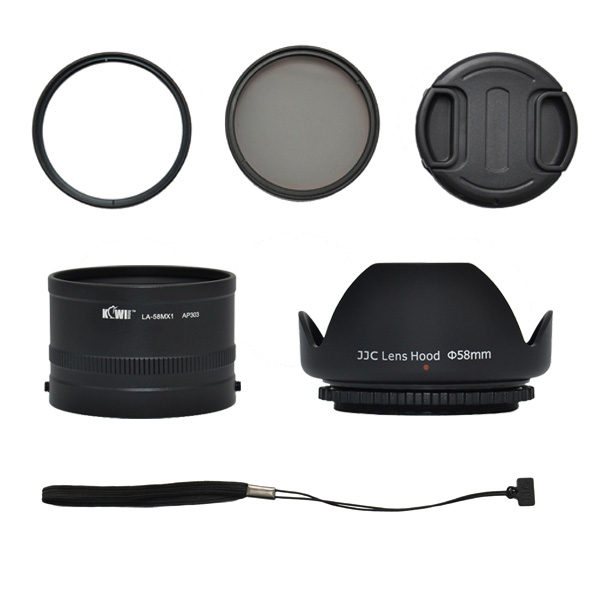 Kiwi Lens Adapter Kit voor Pentax MX-1