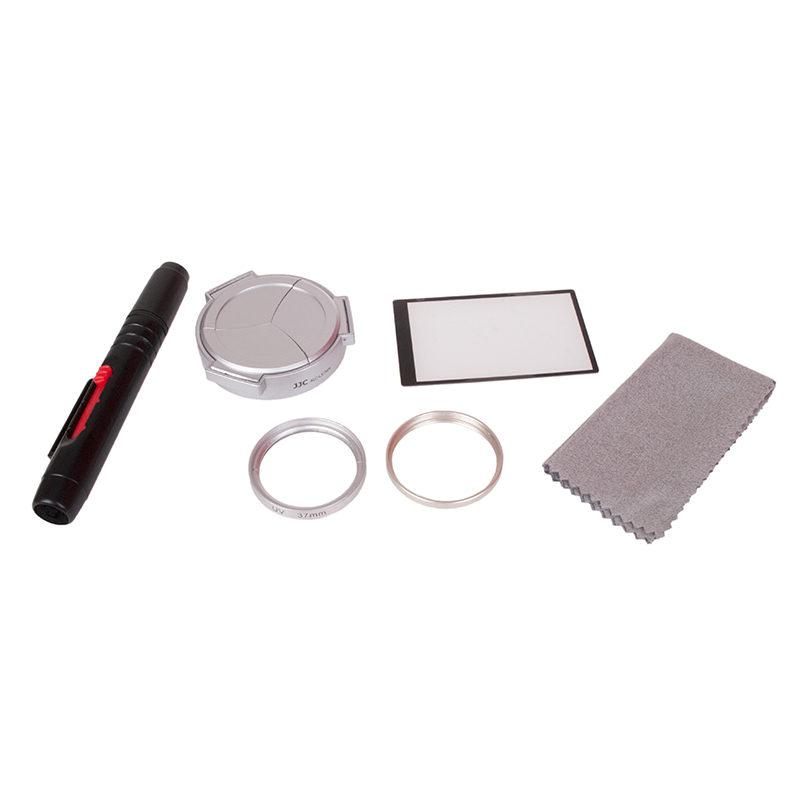 Foto van Kiwi Accessoire Kit voor Panasonic DMC-LX7 - Zilver