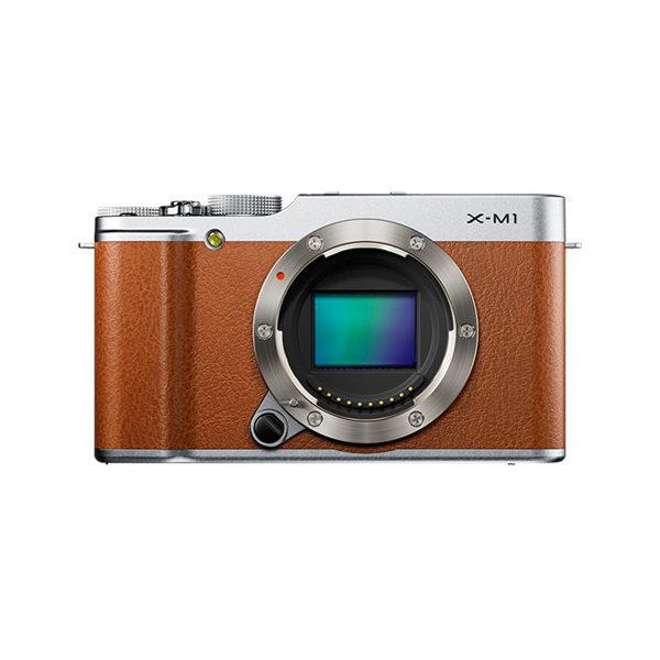 Fujifilm X-M1 systeemcamera body Bruin/Zilver