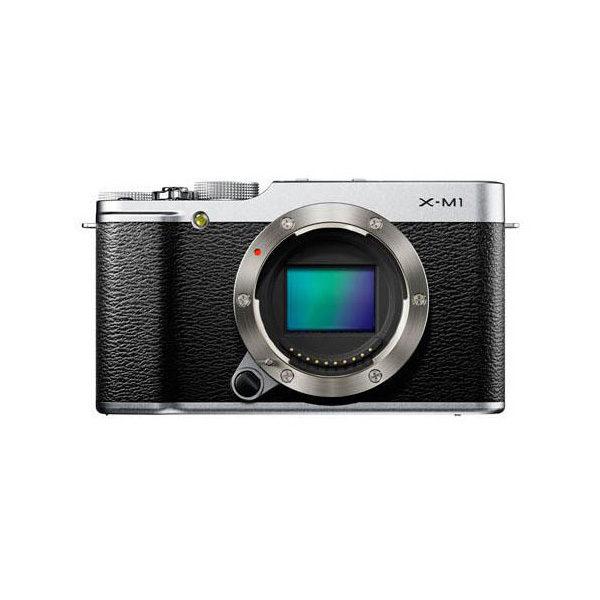 Fujifilm X-M1 systeemcamera body Zwart/Zilver