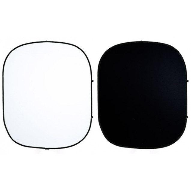 Foto van Savage 2-zijdige Opvouwbare Achtergrond 152x183cm (Black/White)