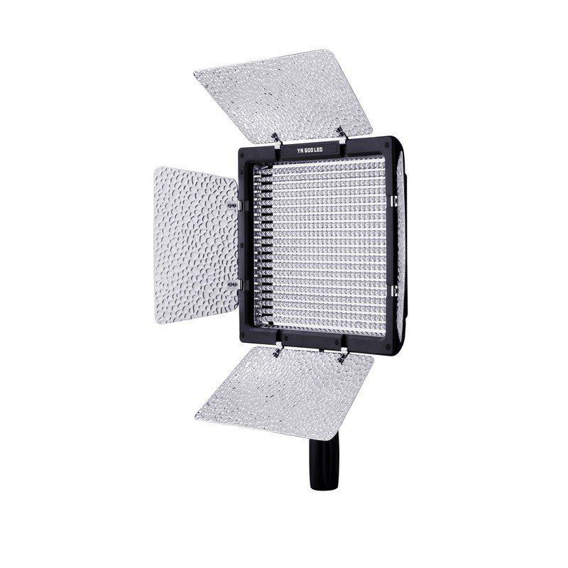 Yongnuo YN-600 5500K LED Light met AC-Adapter