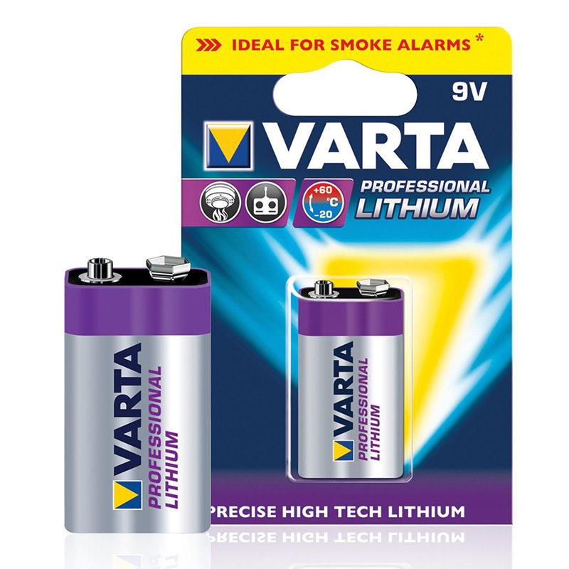 Foto van Varta CR9V Lithium Batterij