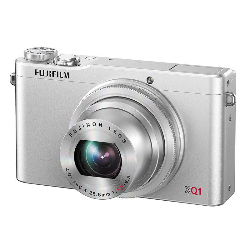Fujifilm FinePix XQ1 compact camera Zilver